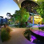 sky garden in Emquartier