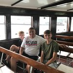 On the star ferry.