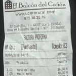 Photo of El Balcon del Canon