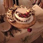 Our wedding cake - Mmmmm!...