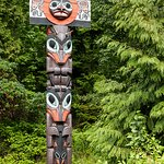 Stanley Park has a good collection of re-created totem poles