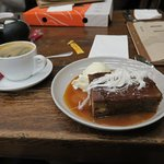 And to finnish off: Sticky Date and excellent coffee.