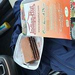 Chocolate Cake with menu