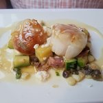 freshest scallops you will have!