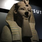 Temporary Egyptian exhibit