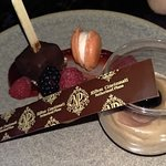 Mini Dessert Plate at the Palm Court