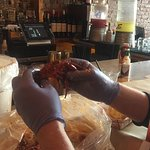 Bibs, gloves, buckets, and bags of deliciousness!