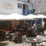 The Courtyard cafe at the Model Village