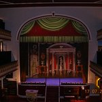 Inside the Aberystwyth Coliseum Theatre/Cinema (now a museum)