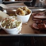 Miller's Smokehouse - Turkey, Sausage, Coleslaw and Butter Potatoes