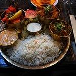 Chicken Thali :-)
