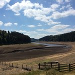 Reservoir low due to recent hot weather