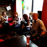 Talented musicians in the pub