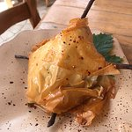 Honey phyllo pork