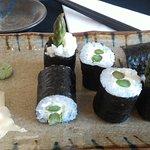Asparagus & Cream cheese maki