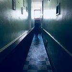 looooong hallway to the bathrooms