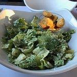 Caesar salad beautifully dressed!