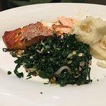 Delicious salmon plate!