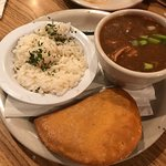 crawfish pie and gumbo