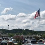 Tanger Outlets Sevierville w/ Flag