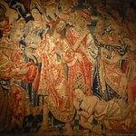 Detail of a Flemish tapestry.