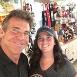 Thursday, July 12th, 2018.  Dennis Quaid and Red State Team Member, Mandy