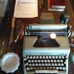 Máquina de escrever usada por Jorge Amado