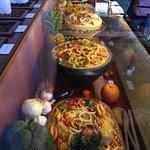 Representação de alguns dos pratos que eram feitos com mais frequência na casa