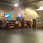 Waikiki Trolley Station at the Galleria