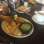 Haddock & Chips meal