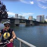 Overlooking the Willamette River