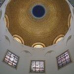 Beautiful gold mosaic dome