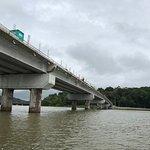 Bridge on the panama canal