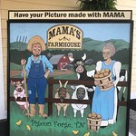 Photo-Op at Mama's Farmhouse