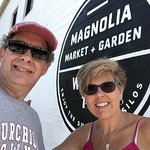 photo op time at Magnolia Market