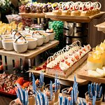 Dessert station from Montereys Brasserie Buffet