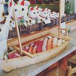We can do ya a boat of sushi!