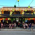 The entrance of the Shamrock Irish Pub Hoi An