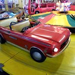This Hampton kiddie ride with a 1960s Mustang is one of several under roof at Trimper's.