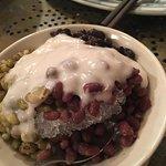3 bean trio dessert