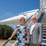 A trip on Concorde