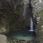 Kozjak Waterfall in Triglav National Park anothe opportunity to have a swim and chill around.