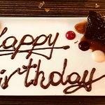 Birthday desert