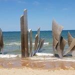 صورة فوتوغرافية لـ Omaha Beach