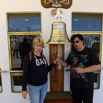 Ring the ship's bell- everybody does!