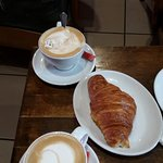 coffe and croissants