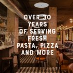 FRESHLY MADE PASTA AND PIZZA DAILY, ALONG WITH SALADS, STEAKS, FISH AND MUCH MORE!