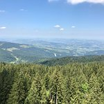 View on the way up to Mt Pilatus