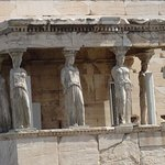 Acropolis of Athens: Porch of the Caryatids