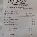 Фотография Cafetería Rotacapa